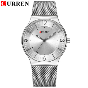 Image 2 - סגנון פשוט הגעה לניו אופנה & מזדמן CURREN גברים עסקים של גברים מלא פלדת קוורץ שעוני יד Relogio Masculino Relojes