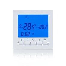 Газовый котел нагревательный аккумулятор термостата мощность цифровой ЖК-экран термостат для котельной терморегулятор