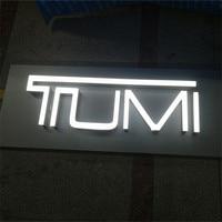 Открытый пользовательские светодиодной подсветкой 3d надписи