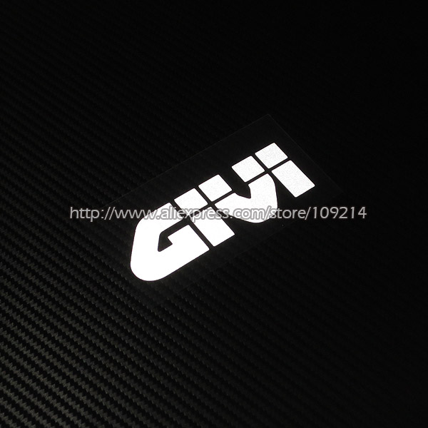 Givi Helmet Motorcycle Decal Reflective Electroplating Sticker Waterproof 19