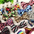 10pcs/lot Wholesale 12cm*6cm Mens Bow Ties Stripe Bowties Gravatas Borboleta Free Shipping