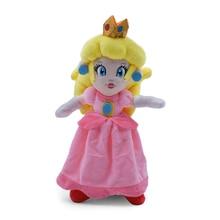 20 cm Super Mario Bros Pink Princess Peach Daisy Soft stuffed Plush Toys Game Doll