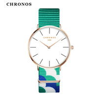 Fashion CHRONOS Watches Mens Orologi Donna Luxury Brand Casual Quartz Clock Rose Gold Montre Femme Masculino