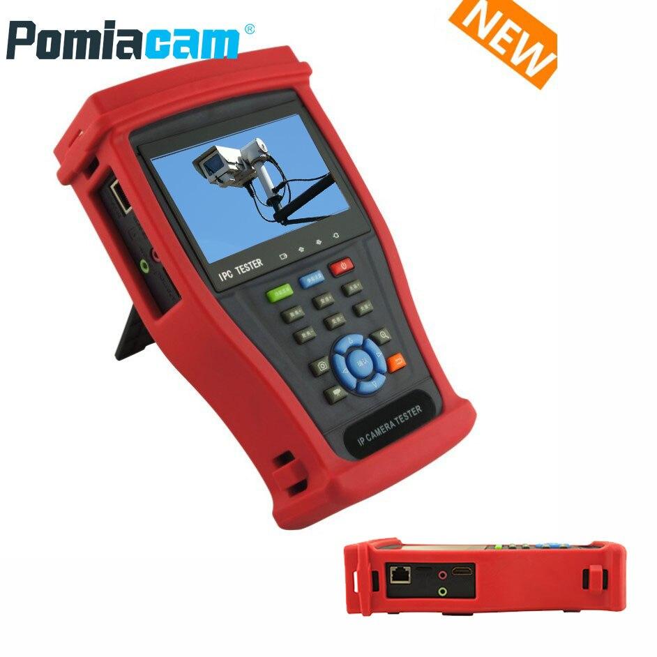 IPC4300MCADHS plus IP camera tester CCTV camera tester 8MP TVI CVI 5MP AHD SDI 4K IP Camera Tester CCTV camera monitor