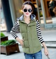 Frete grátis Barato wholesale2016brand Outono Inverno venda Quente mulheres moda casual feminino agradável quente big plus size Colete Outerwear
