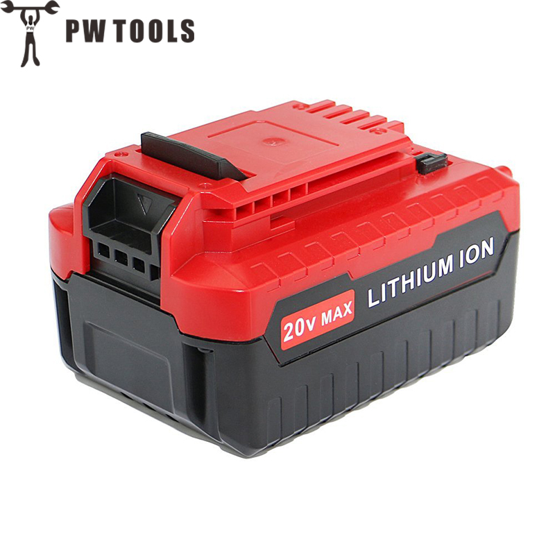 PW TOOL New 20 V 4.0 Ah Power Tool Lithium Battery Large Capacity Long Life Fast Charge Battery for Power Tool Accessories pw tool 19v 2000mah ni cd battery rechargeable large capacity long life fast charge replace battery for power tool accessories