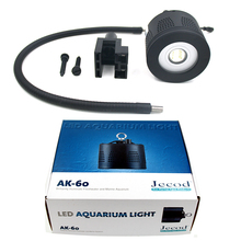 Jebao sea water lamp AK-60 60W Clip-on Style Dense Matrix Aquarium SPS Marine Fish Tank Coral Reef LED Light 100-240V