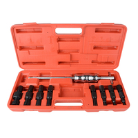 9PCS Blind Hole Slide Hammer Bearing Internal External Removal Puller Set
