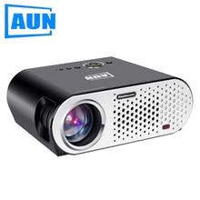 Aun proyector t90 1280*768 (opcional Android WIFI Bluetooth Apoyo KODI Jugar AC3) 3200 Lúmenes TV para Cine En Casa, Lecture