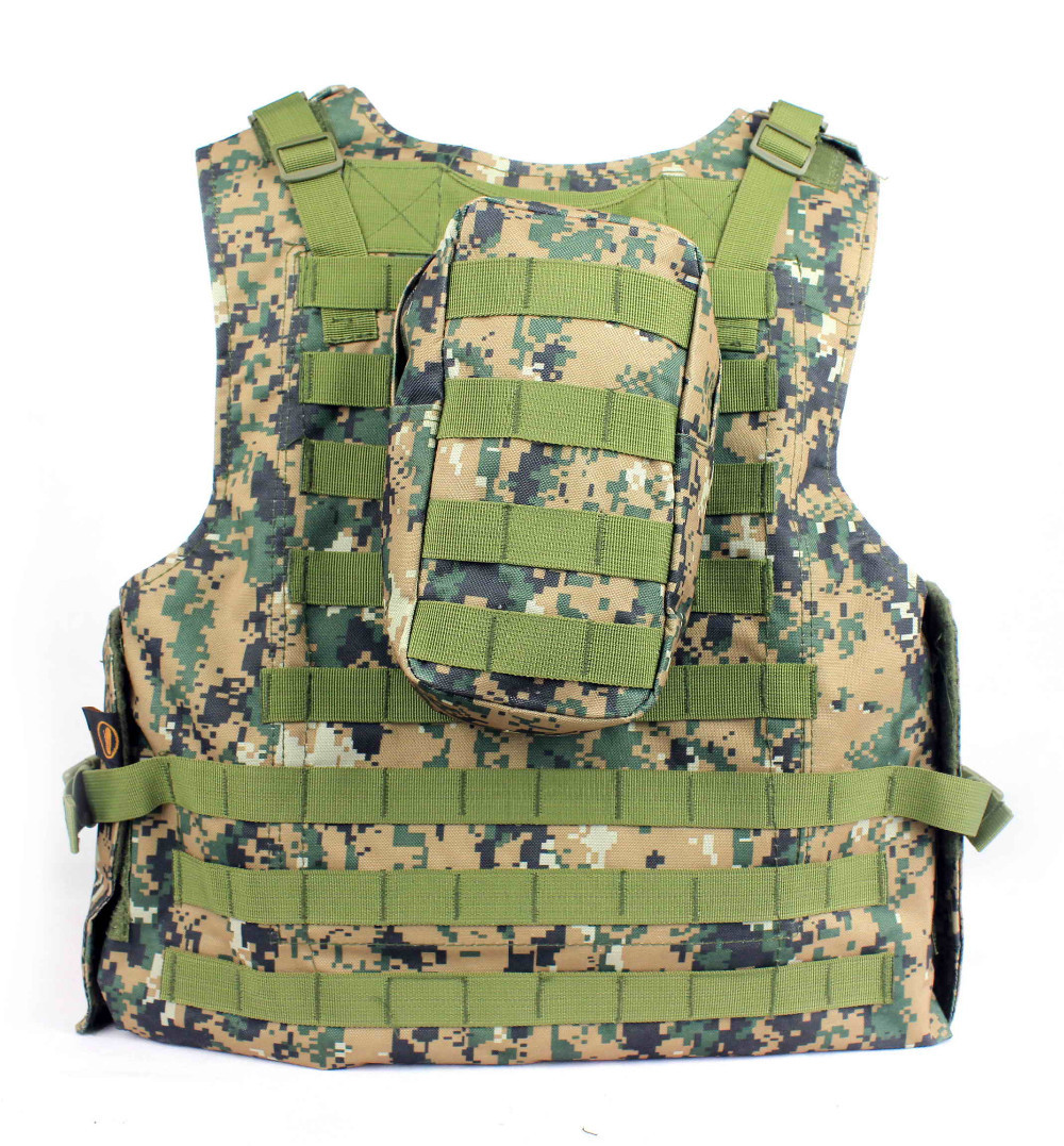 Ushtria Vest Molle Taktike Vest tifozët Ushtria jelekë amfibë - Veshje sportive dhe aksesorë sportive - Foto 3