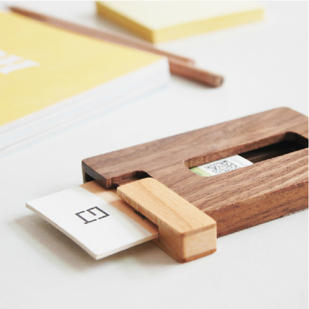 Creative solid wood cardcasebusiness card holderportable wooden creative solid wood cardcasebusiness card holderportable wooden cardfilebank cardboxoffice deskmessage holderfree shipping in card stock from office colourmoves