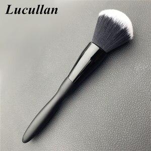 Image 2 - Lucullan 20CM להאריך גרסה סופר רך לבן שיער ניקוי מברשת פנים אלקטרוסטטי אבק להסיר כלים לפרטים מפעל