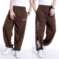 Free shipping plus size XL XXXL-5XL spring mens hiphop pants trousers cotton elastic waist autumn extra large men's sweatpants