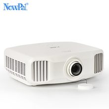 Big discount Newpal X8000 DLP Projector 3300Lumens Full HD Android WIFI Home Business Projector 3LCD Home Cinema Beamer Proyector