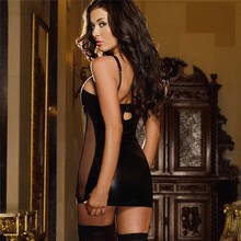 PU Leather Plus Size Dress