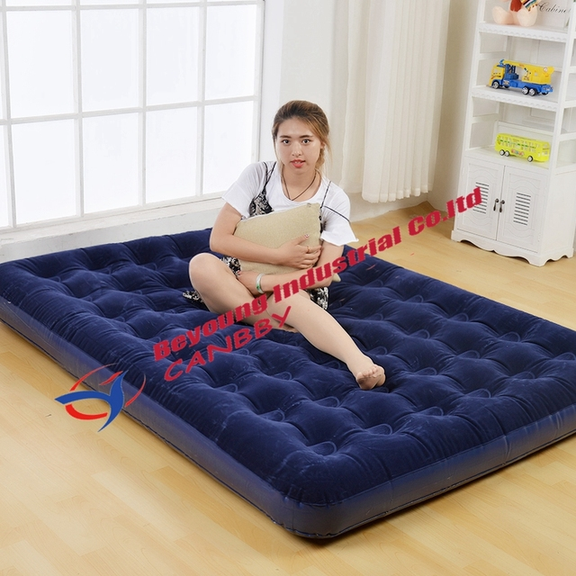 5fb3b6e56a85 Bestway Comfort Quest Queen Size Flocked Air Bed Inflatable Blow Up Queen  Airbed Guest Travel Camping Hiking Mattress