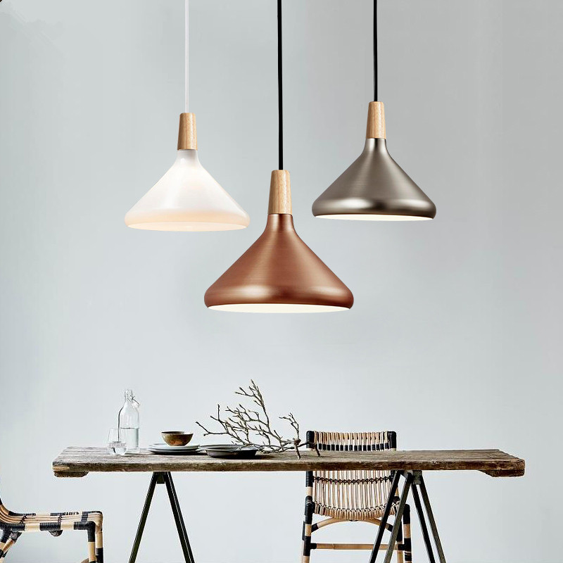 Nordic Pendant Lamp Aluminium Hanglamp Modern Pendant Light for living room Kitchen Fixtures suspension luminaire lighting nordic pendant light modern hanglamp gold black suspension luminaire for living dining room loft led lamp lamparas