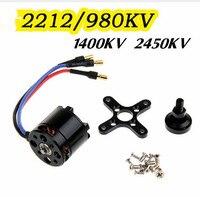 4 pcs/lot 2212 980KV Brushless Motor 2212 Upgrade Version For FPV Multicopter Quadcopter
