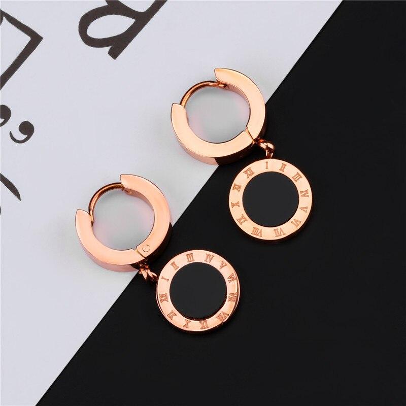 62eaef3dd722 Oorbellen nueva marca de moda pendientes de aleación de Zinc de carta caída  pendientes para las