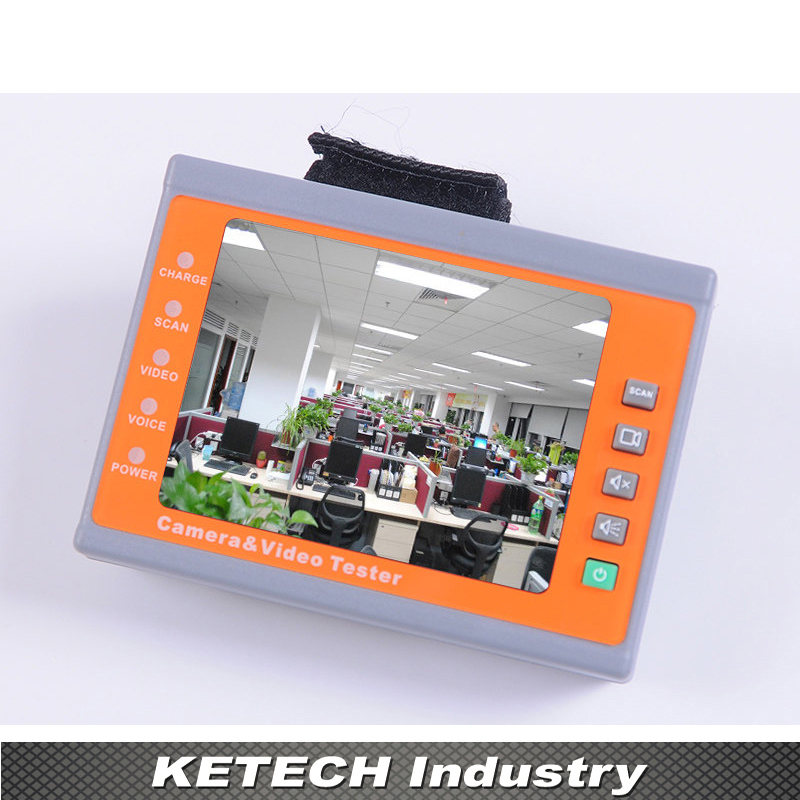 Wrist 3.5 LCD CVBS Analog Camera CCTV Tester Monitor Video Audio Test NTSC/PAL Auto Adjust 3 5 inch tft led audio video security tester cctv camera monitor