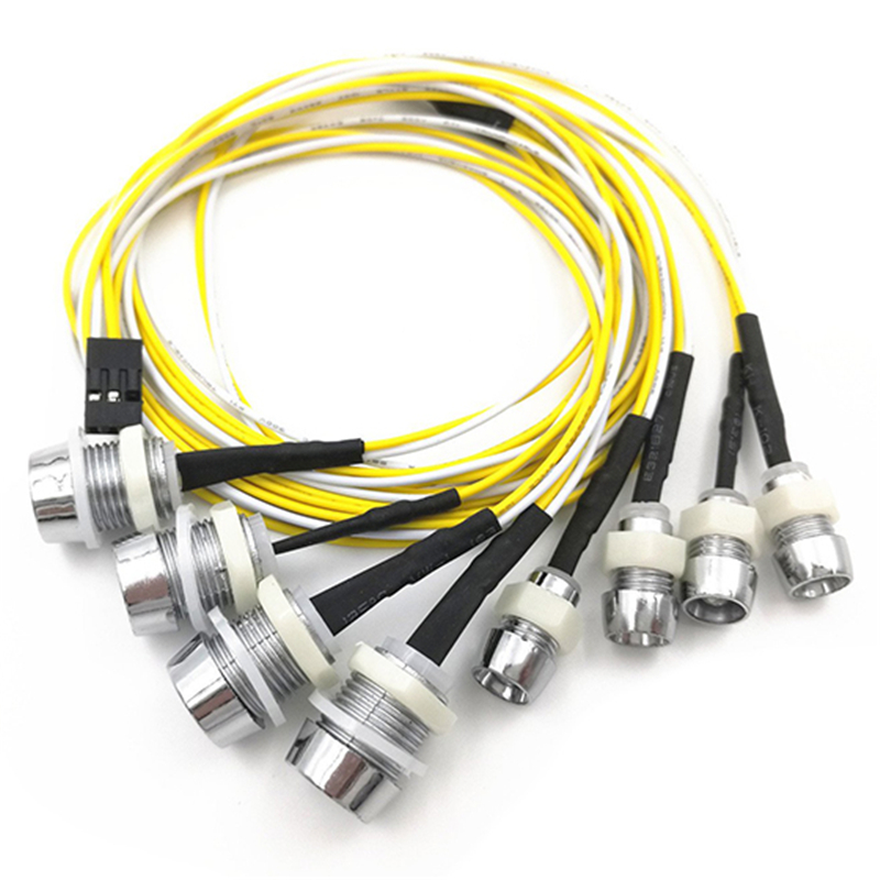 Best Sale 8 LED Light Kit Rc Truck Led Lights Kit Headlights Taillight For Truck Tank HSP White Red Yellow  Rc Car Accessories