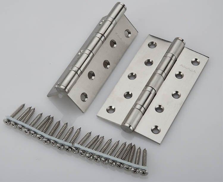 UNILOCKS 5 ''X 3'' X 3mm acier inoxydable brosse Nickel porte charnières robustes charnières nouveau