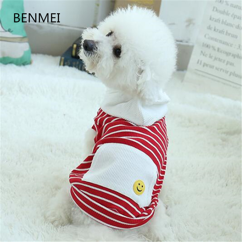 BENMEI 2018 Small Big Dog Clothes Spring&Autumn Dog Sweatshirt Hoodies For Poodle Pug Bulldog Hooded Outfit XS-3XL Costumes