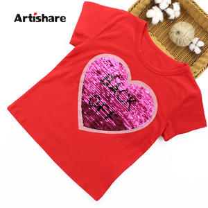 artishare T-Shirts For Kids T Shirt For Girls Children