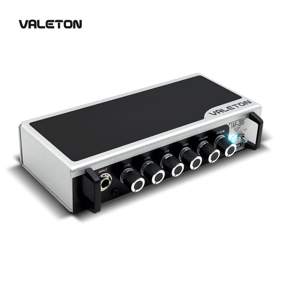 Valeton Guitar Amp with Reverb Distortion Overdrive Asphalt Pedal Platform Amplifier Head with CAB SIM TAR
