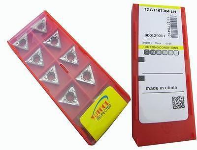 New 50PCS Triangle TCGT16T304LH ALuminium Carbide Insert Turning cutter insert цена и фото