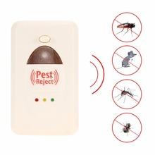 Nosii 2 in 1 Ultrasonic Electromagnetic Wave Cockroach Mosquito Fly Rat Control Mouse Mice Electronic Deratization Old Type