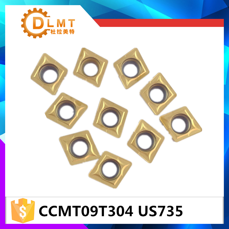 20tk / komplekt DFUTE CCMT09T304 US735 Karbiidi freesimine ja - Tööpingid ja tarvikud - Foto 3