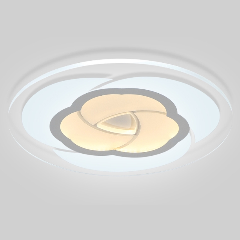 Lovely Modern Simple Round Rose Surface Mounted Smart Led Ceiling Light Lighting Lustre Ultra Thin Ceiling Lamp For Living Room Bedroom Back To Search Resultslights & Lighting