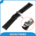 22mm Genuine Leather Watch Band Butterfly Clasp for Moto 360 2 Gen 46mm Samsung Gear 2 R380 Neo R381 Live R382 Strap Bracelet