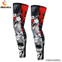 Pro Cycling Team Fabric 2017 Malciklo Men/Women Bike Bicycle MTB Sport Ciclismo Leg Warmers Sleeves L001(Note: size S-3XL)