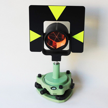 Новые зеленые один PRISM набор треножников система для тахеометр геодезический