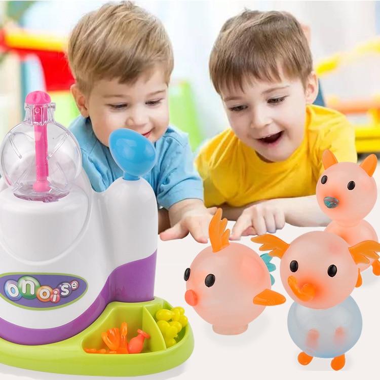 2019 High quality magic adhesive music wave oonies children DIY handmade creative sticky ball fun bubble inflator toys