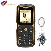 (Regalo) DTNO. I A11 IP67 Impermeable Viejo Teléfono Reproducción de MP3 Bluetooth FM 1300 mAH Batería Dual Sim Móvil Con Teclado ruso