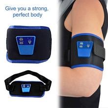 New Cheapest Belt AB G Massage Slim Fit Gymnic Front Muscle Arm leg Waist AbdominalToning health care body massage Wholesale
