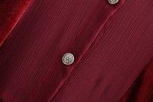women vintage chiffon patchwork velvet midi dress ladies elegant bow tied sashes vestidos pleats ruffless party dresses DS1375