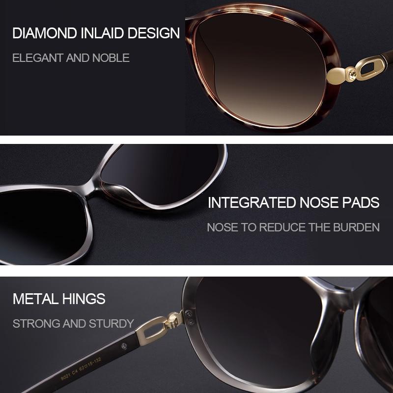 VEGOOS Luxury Brand Designer Polarisierte Sonnenbrille Sonnenbrille - Bekleidungszubehör - Foto 4