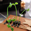 sell Meng artifact! Funny grass hairpin hairpin small pea sprouts head long grass hair accessories