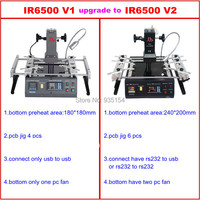 Shipping From UK No Tax Infrared BGA Rework Station LY IR6500 V 2 Bigger Preheat Area