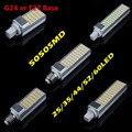 Lâmpada led de milho lâmpada led SMD 5050 180 degeree AC85-265V 7 W 9 W 10 W 12 W 15 W conduziu a iluminação E27 G24 levou lâmpada