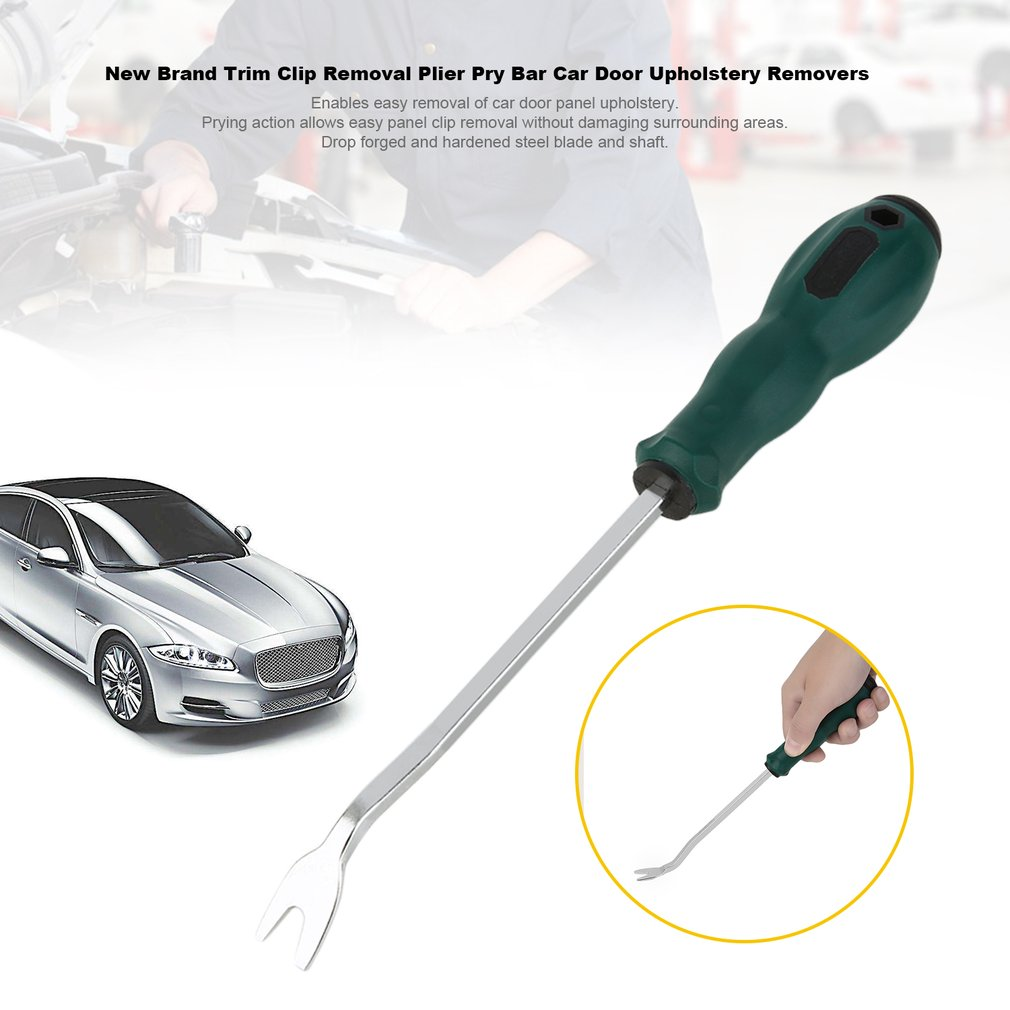 Useful Car Door Panel Removal Upholstery Fastener Disassemble Refit Tool Trim Clip Removal Plier Pry Bar
