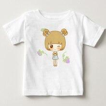 2018 summer short sleeved T-shirt boy girl cotton cute baby cartoon beauty Short sleeve coat hot sale