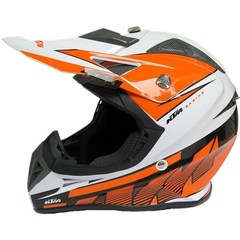 nouveau ktm motocross casque moto casques off road moto racing vtt casques ktm orange dot peut