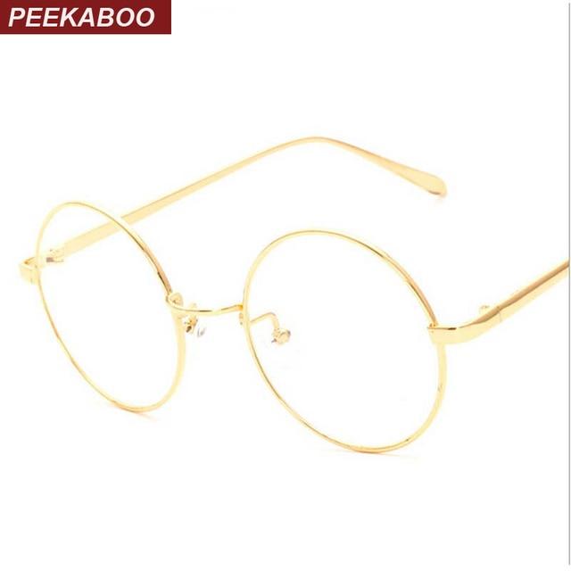 1b70d19420edea Coucou NOUVELLE-coréen rétro plein jante or monture de lunettes nerd mince  EN MÉTAL PREPPY