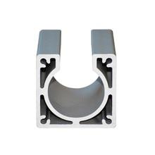 best price 1 piece Nema23 Motor mounts base 57 stepper motor bracket for diy cnc nema17 42mm motor nema17 0 9 degree 42mm two phase hybrid stepper motor 1 33a 34mm for cnc best price