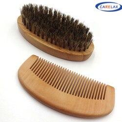Wood handle natural pig on the hair brush facial beard cleaning men s shaving brush barber.jpg 250x250